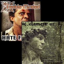Feeble Minded / Limits Of Nescient - Hate feeling / Decadence